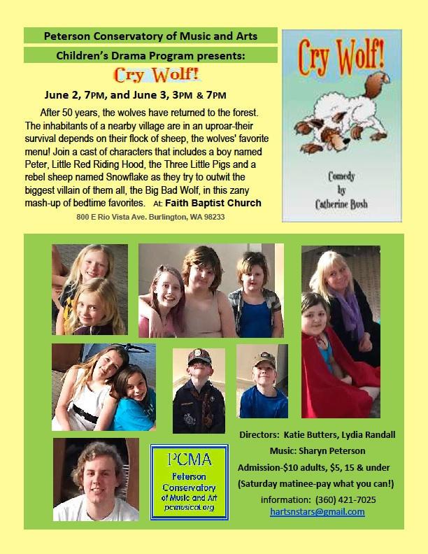 Children's Drama Program presents Cry Wolf!