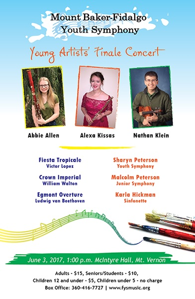 Fidalgo Youth Symphony Young Artists' Finale Concert