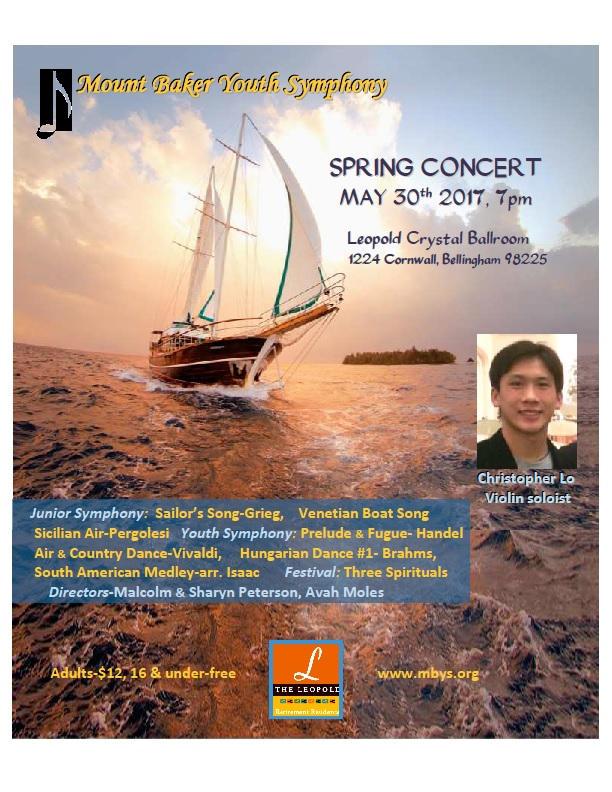 Mt Baker Youth Symphony Spring Concert
