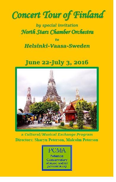 Finland Tour Poster